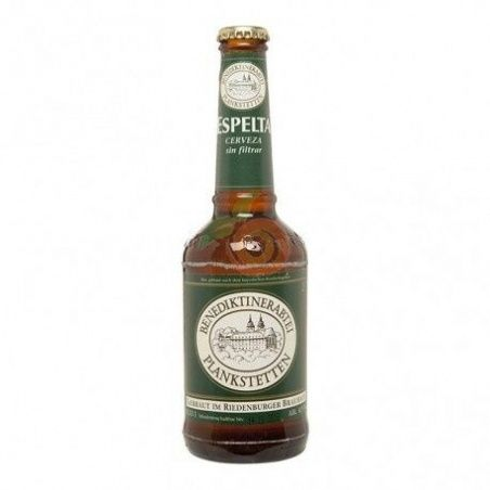 Cerveza de espelta sin filtrar 33 cl riedenburger
