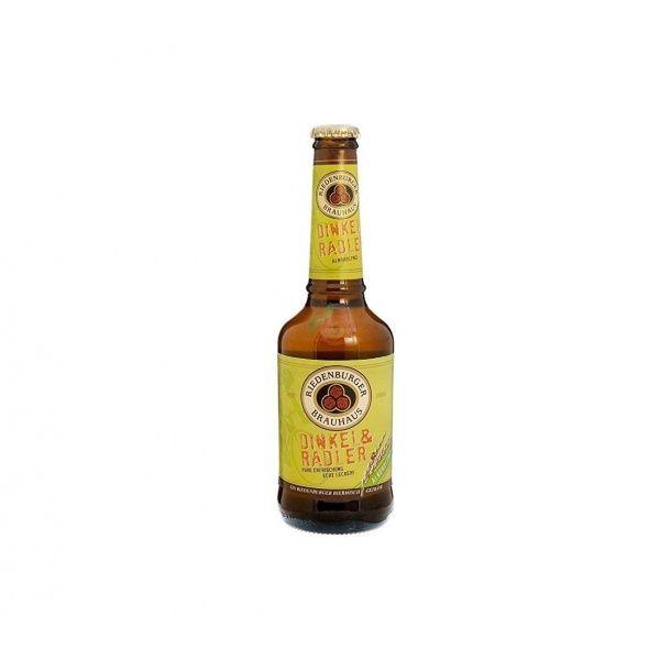 Cerveza clara de espelta 330 ml riedenburger