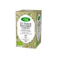 Te verde jengibre limon infusion eco 30grs artemis