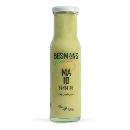 Salsa mayo sin huevo 240 gramos sesmans organic