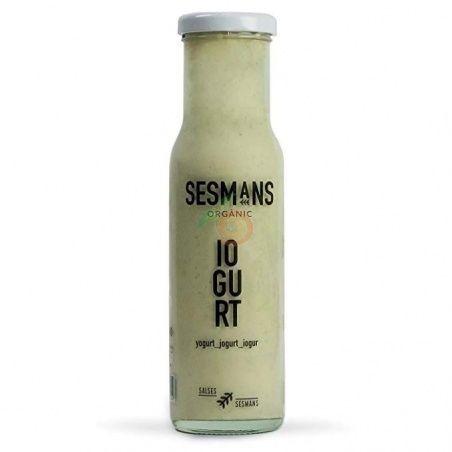 Salsa yogur 240 gramos sesmans organic