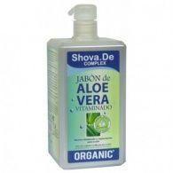 Jabón de aloe vera vitaminado 1 litro shova.de