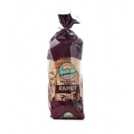 Pan de molde kamut blanco blando 400 gramos biocop