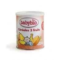 Papilla cereales 3 frutas con quinoa bio 6m babybio
