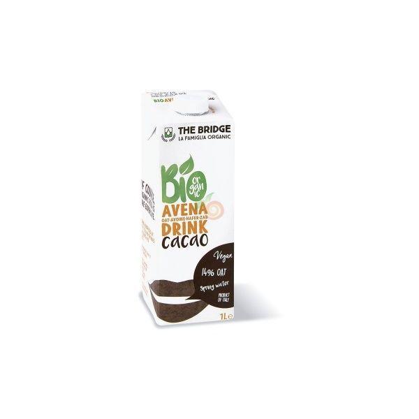 Bebida de avena con cacao 1 litro the bridge