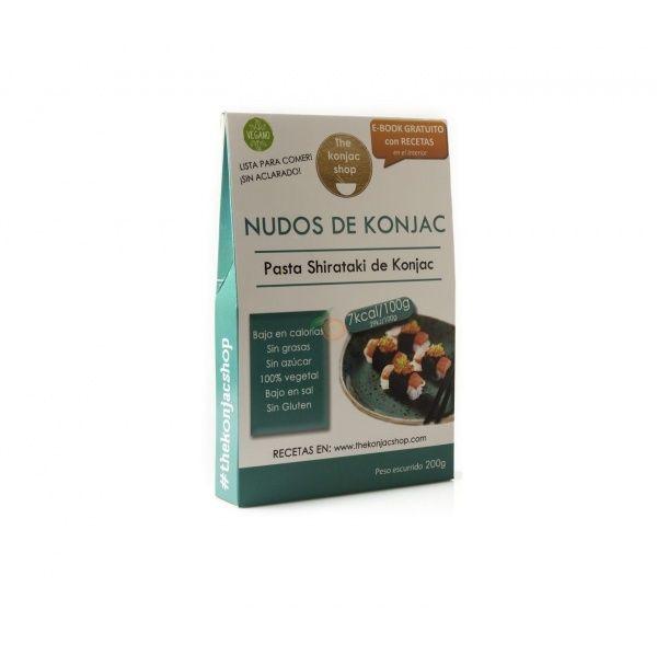 Nudos de konjac 200 gramos the konjac shop