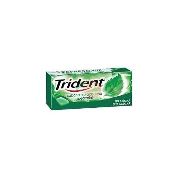 Chicles sabor hierbabuena trident fresh