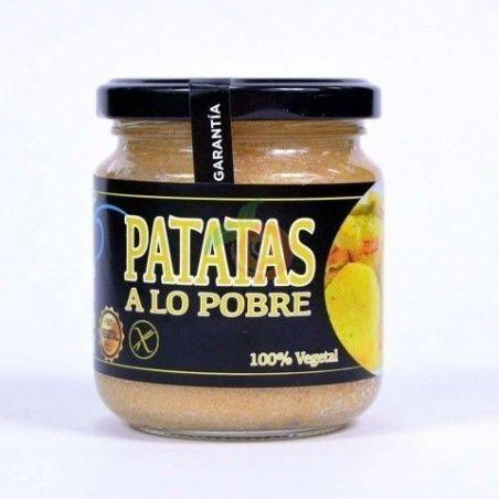 Crema de patatas a lo pobre 200 gramos vegano salud