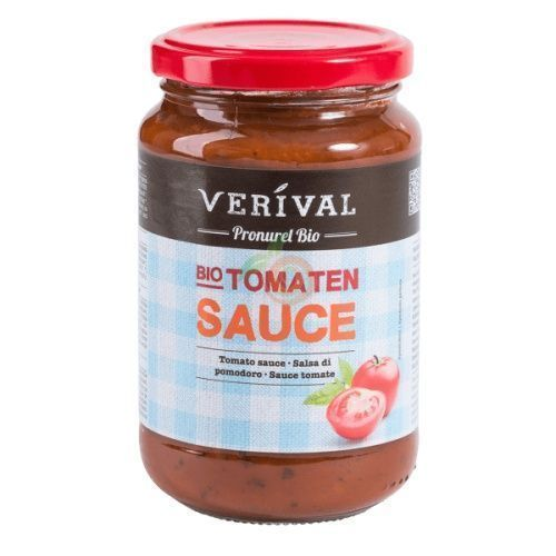 Salsa de tomate 370 gramos verival bio