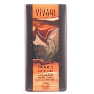 Chocolate negro con nougat 100 gramos vivani