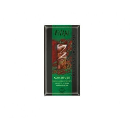 Chocolate con leche con avellanas 100 gramos vivani