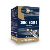 Oligogranulos zinc-cobre 50 cápsulas way diet