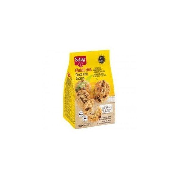 Choco chips cookies galletas con pepitas de chocolate 200 gramos sin gluten dr schar