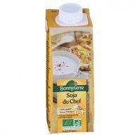 Crema de leche soja cocinar bio 250 ml bonneterre