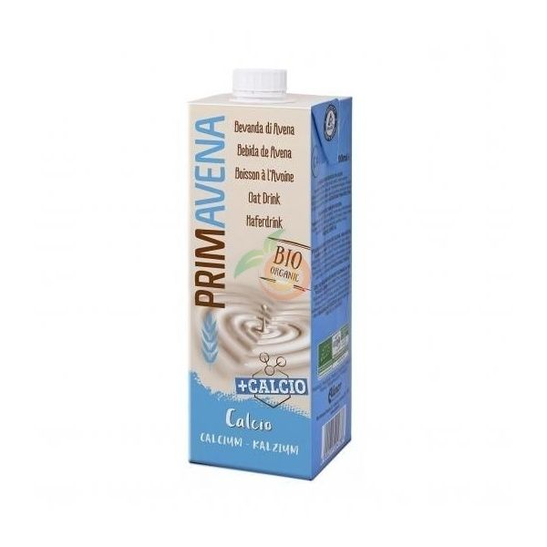 Bebida vegetal de avena con calcio bio 1 litro primavena