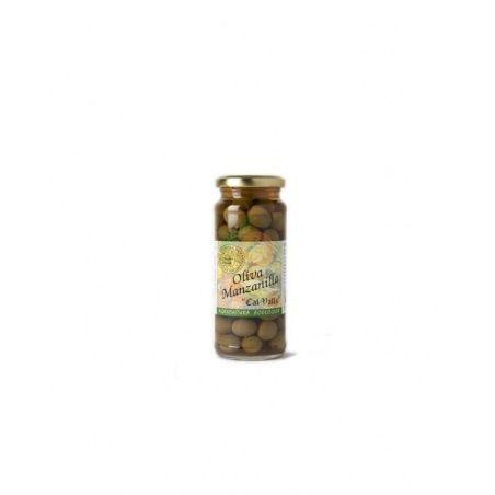 Aceitunas manzanilla verde cal valls