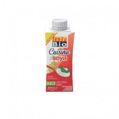 Crema para cocinar de soja 200 ml isola bio