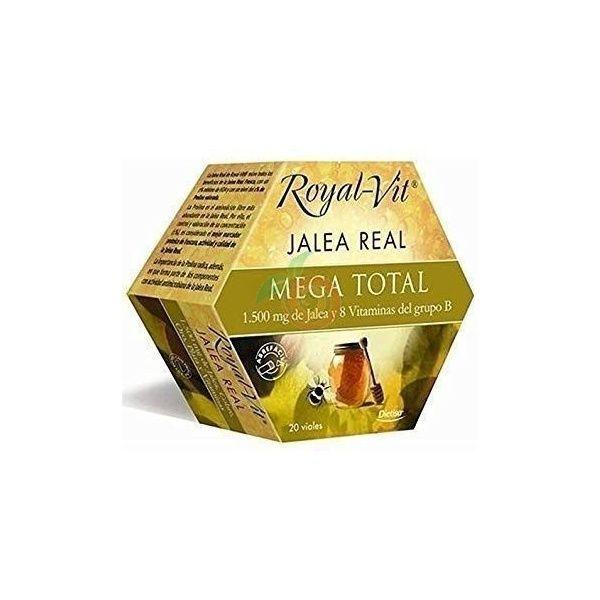 Jalea real mega total royal vit 20 viales dietisa