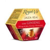 Jalea real royal-vit ginseng 20 ampollas dietisa