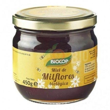 Miel de milflores bio 450 gr biocop
