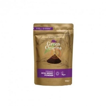 Acai en polvo organic 75 gramos green origins