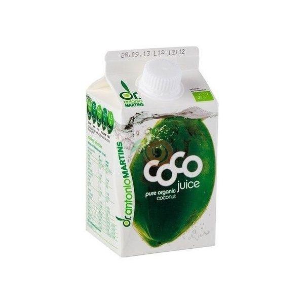 Agua de coco natural 500 ml dr. antonio martins