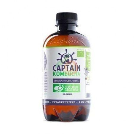 Bebida kombucha coco bio vegano sin gluten captain kombucha