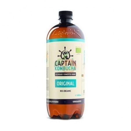 Bebida kombucha original bio vegano sin gluten captain kombucha