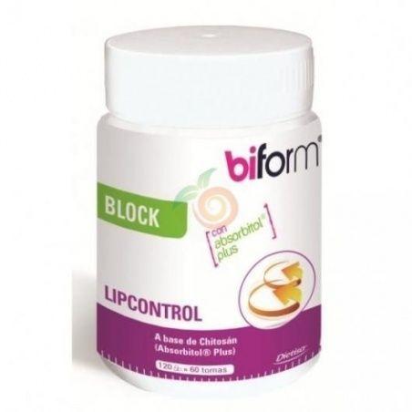 Lipcontrol plus bloquea grasas 120 capsulas biform dietisa