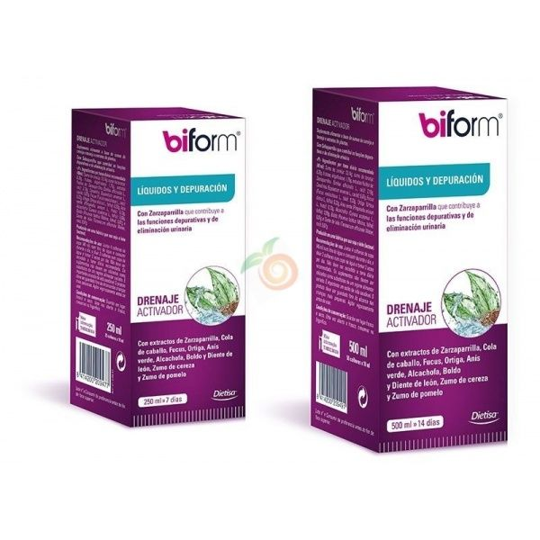 Drenaje activador 250 ml biform dietisa