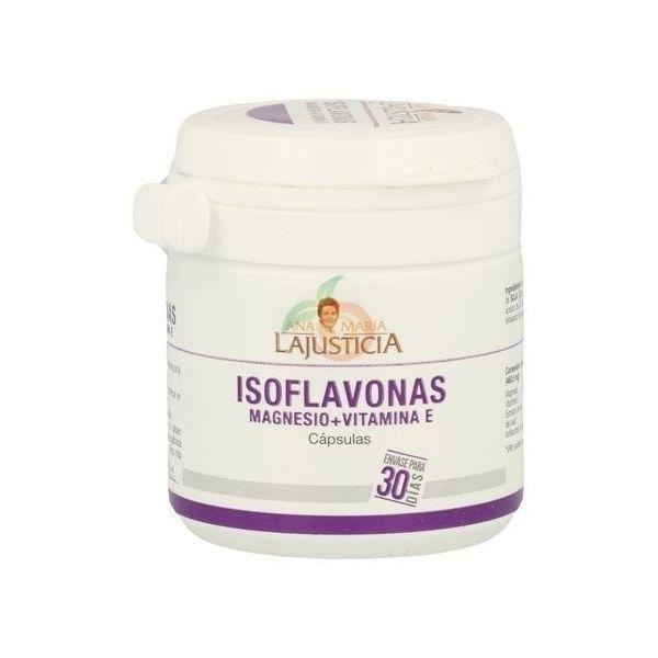 Isoflavonas magnesio y vitamina E