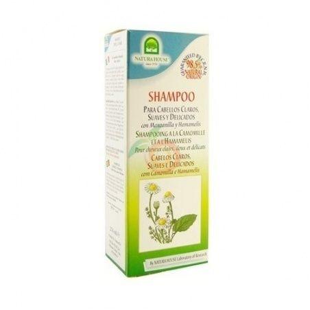 Champu manzanilla cabellos claros y delicados sakai
