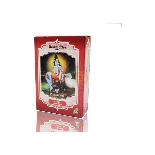 Henna tinte natural caoba 100gr en polvo spiritual sky