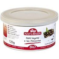 Pate vegetal a las pimientas bio 125 gramos natursoy