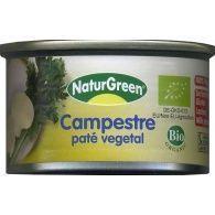 Pate campestre lata 120 gramos naturgreen