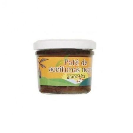 Pate olivas negras bio 120 gramos cristal granovita