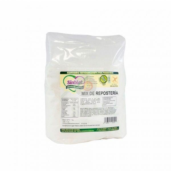Mix harina reposteria sin gluten 1 kg sinblat