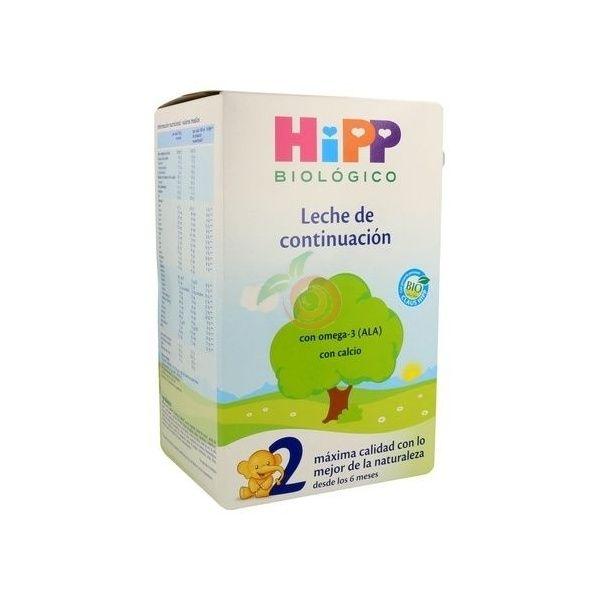 Leche infantil continuacion 2 bio 600 gramos hipp