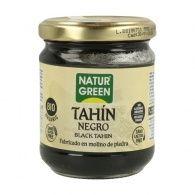 Tahin pure sesamo negro bio 180 gramos naturgreen