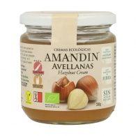 Crema de avellanas eco 330 gramos amandin