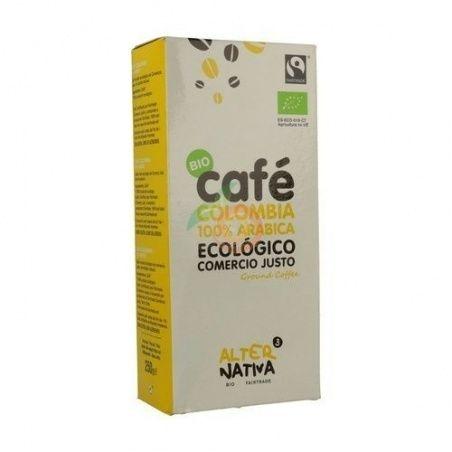 Cafe molido colombia arabica bio comercio justo alternativa3