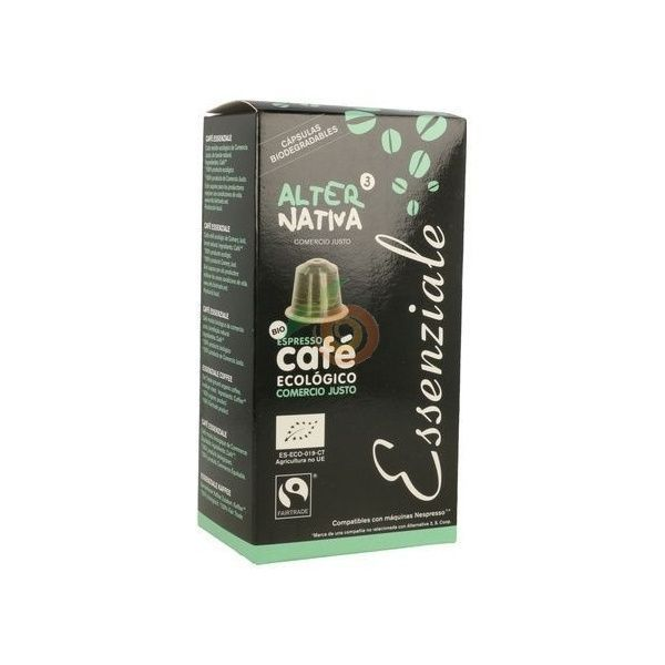 Capsulas de cafe essenziale ecologico comercio justo alternativa 3