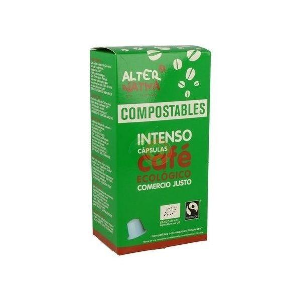 Capsulas compostables de cafe intenso ecologico alternativa 3