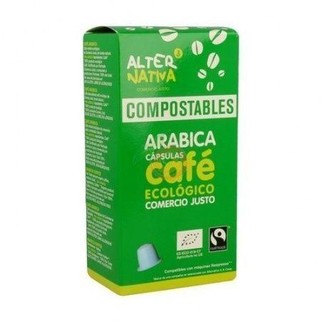 Capsulas compostables de cafe arabica ecologico alternativa 3