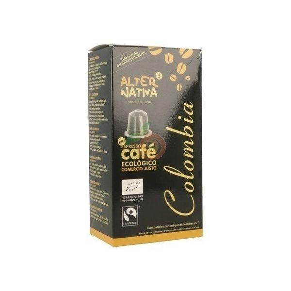 Capsulas de cafe colombia ecologico comercio justo alternativa 3
