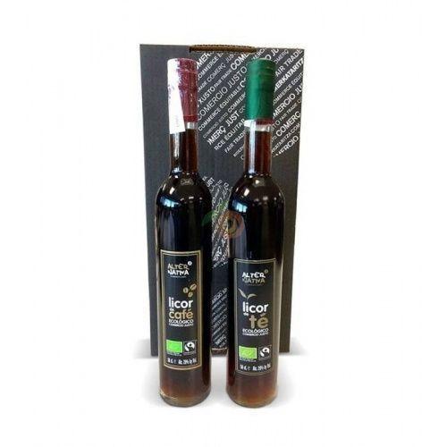 Pack regalo licor te y licor cafe eco alternativa 3