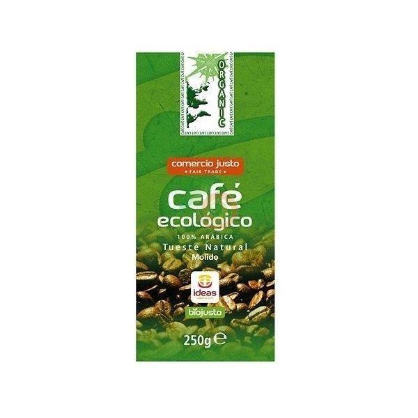 Cafe molido arabica 250 gramos organic