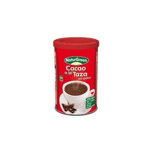 Cacao a la taza en polvo bio sin gluten 250 gramos naturgreen