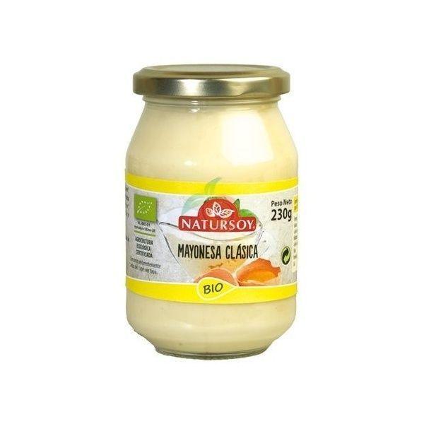Mayonesa clasica bio 230 gramos natursoy