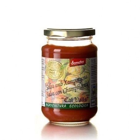 Salsa de tomate con champiñones 350 gramos cal valls